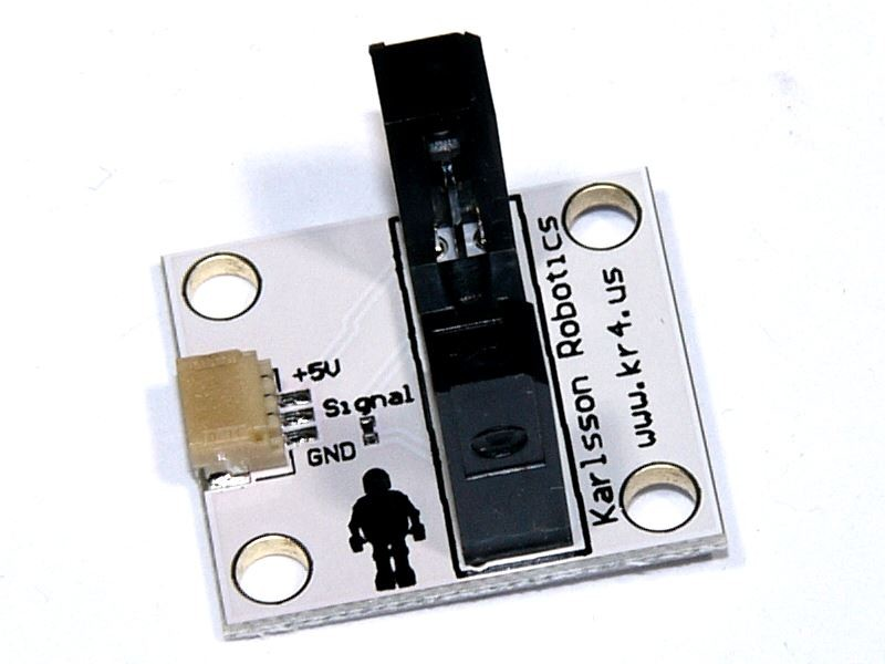 Photo Interrupter board with GP1A57HRJ00f