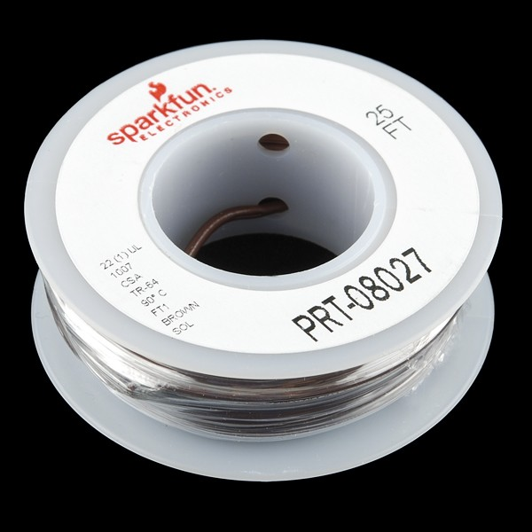 Hook-up Wire - Brown
