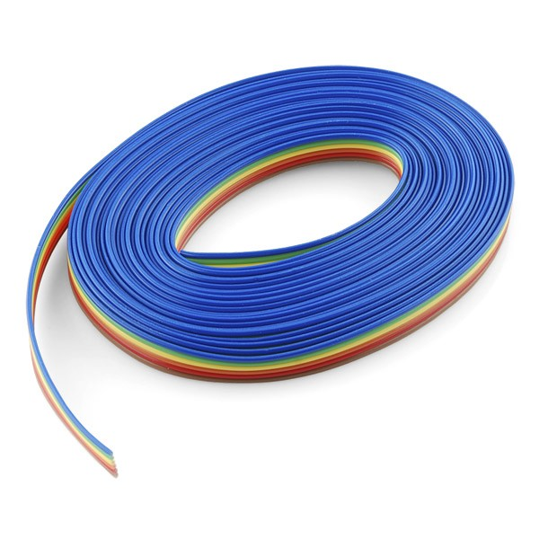 Ribbon Cable - 6 wire (15ft)