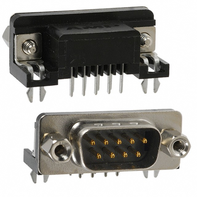 9 Pin Male Serial Connector - PCB Mount