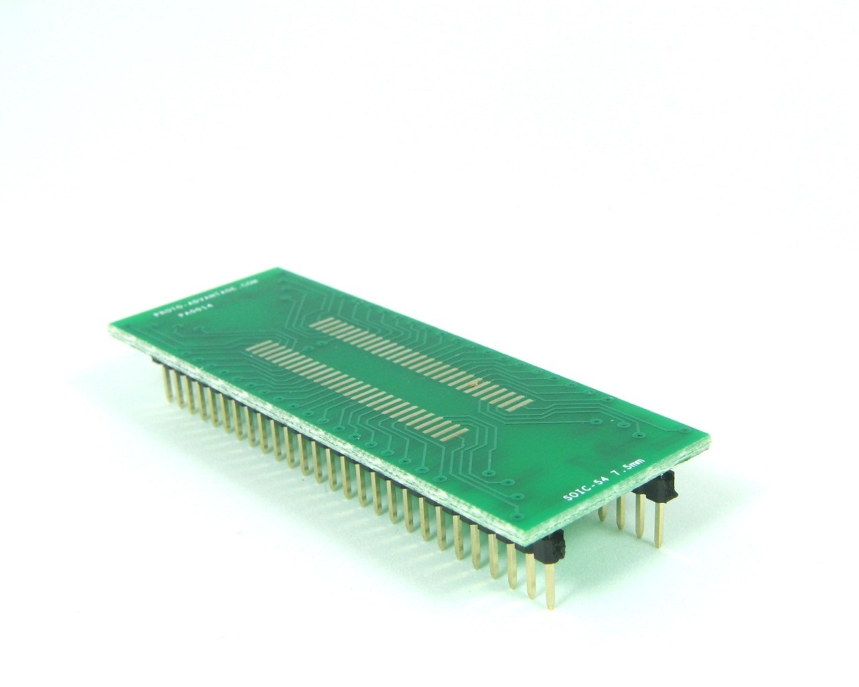 SOIC-54 to DIP-54 SMT Adapter (1.27 mm pitch, 300 mil body)