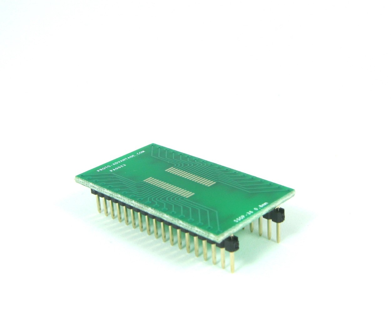 SSOP-36 to DIP-36 SMT Adapter (0.8 mm pitch)