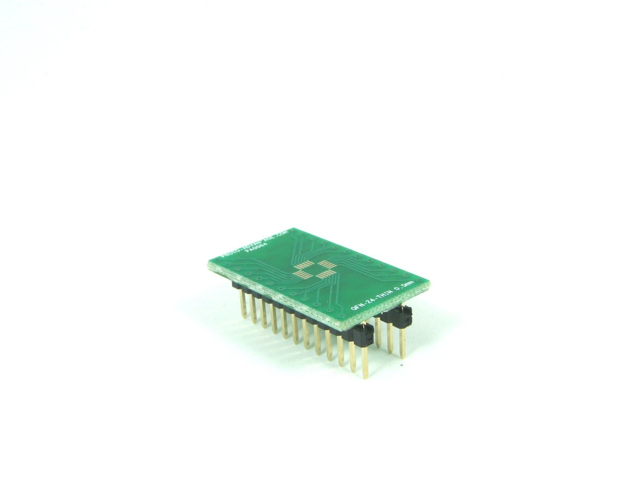 QFN-24-THIN to DIP-24 SMT Adapter (0.5 mm pitch, 4 x 4 mm body)