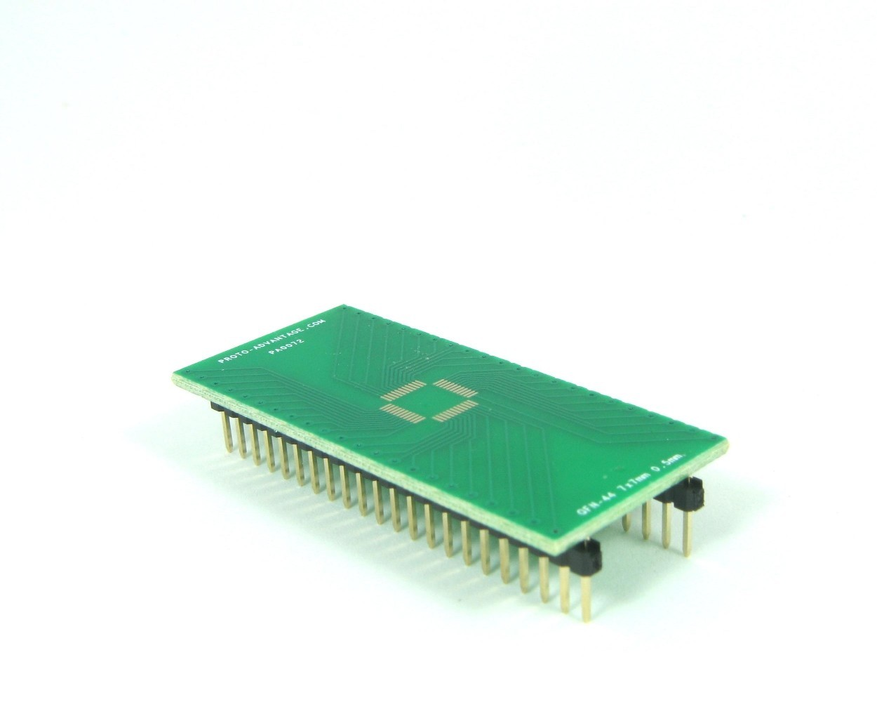 QFN-44 to DIP-44 SMT Adapter (0.5 mm pitch, 7 x 7 mm body)