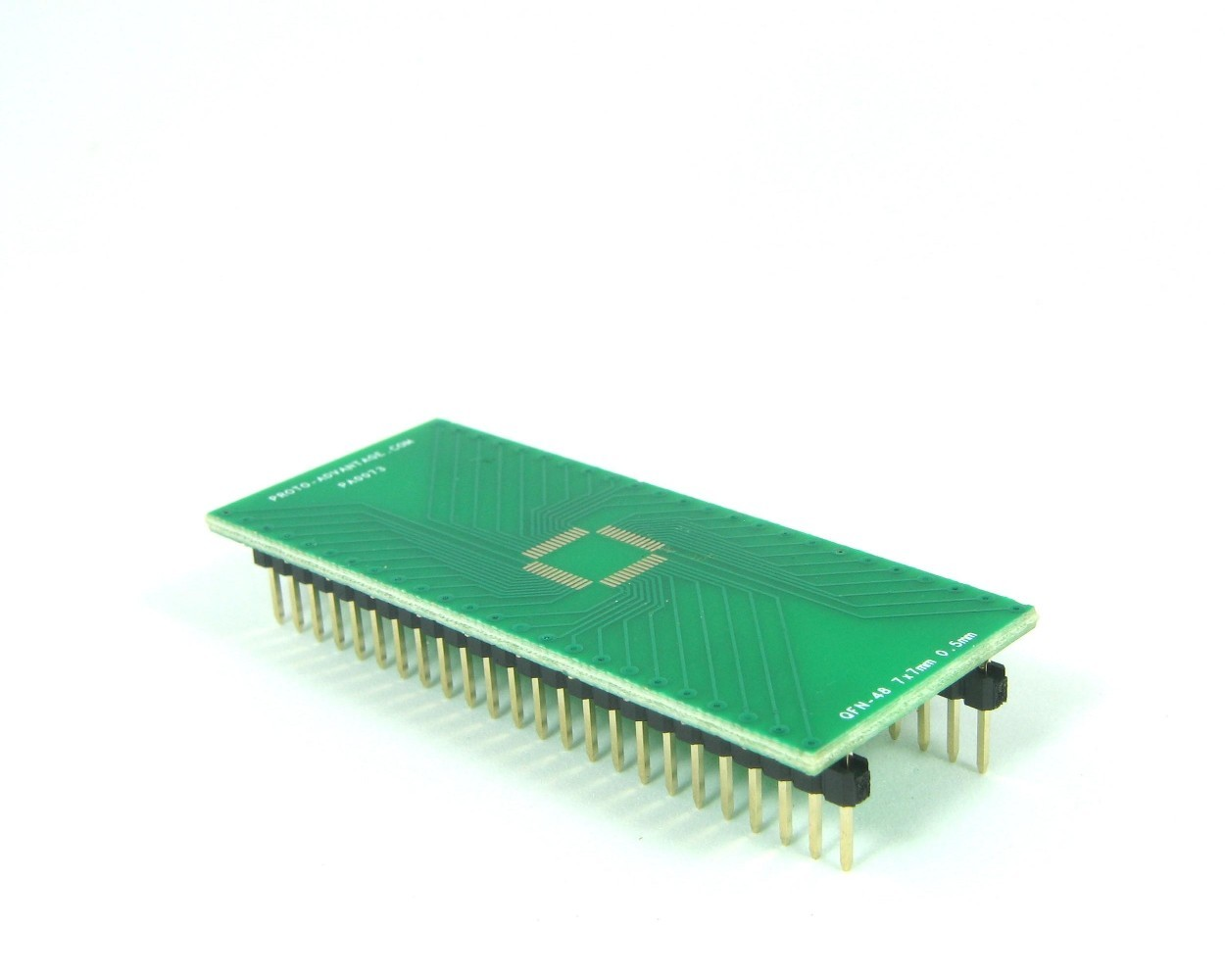 QFN-48 to DIP-48 SMT Adapter (0.5 mm pitch, 7 x 7 mm body)