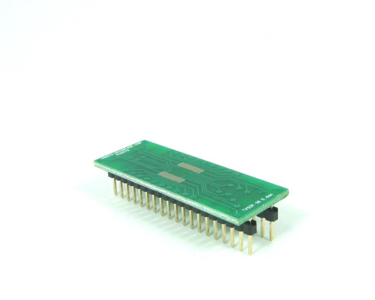TVSOP-38 to DIP-38 SMT Adapter (0.4 mm pitch)