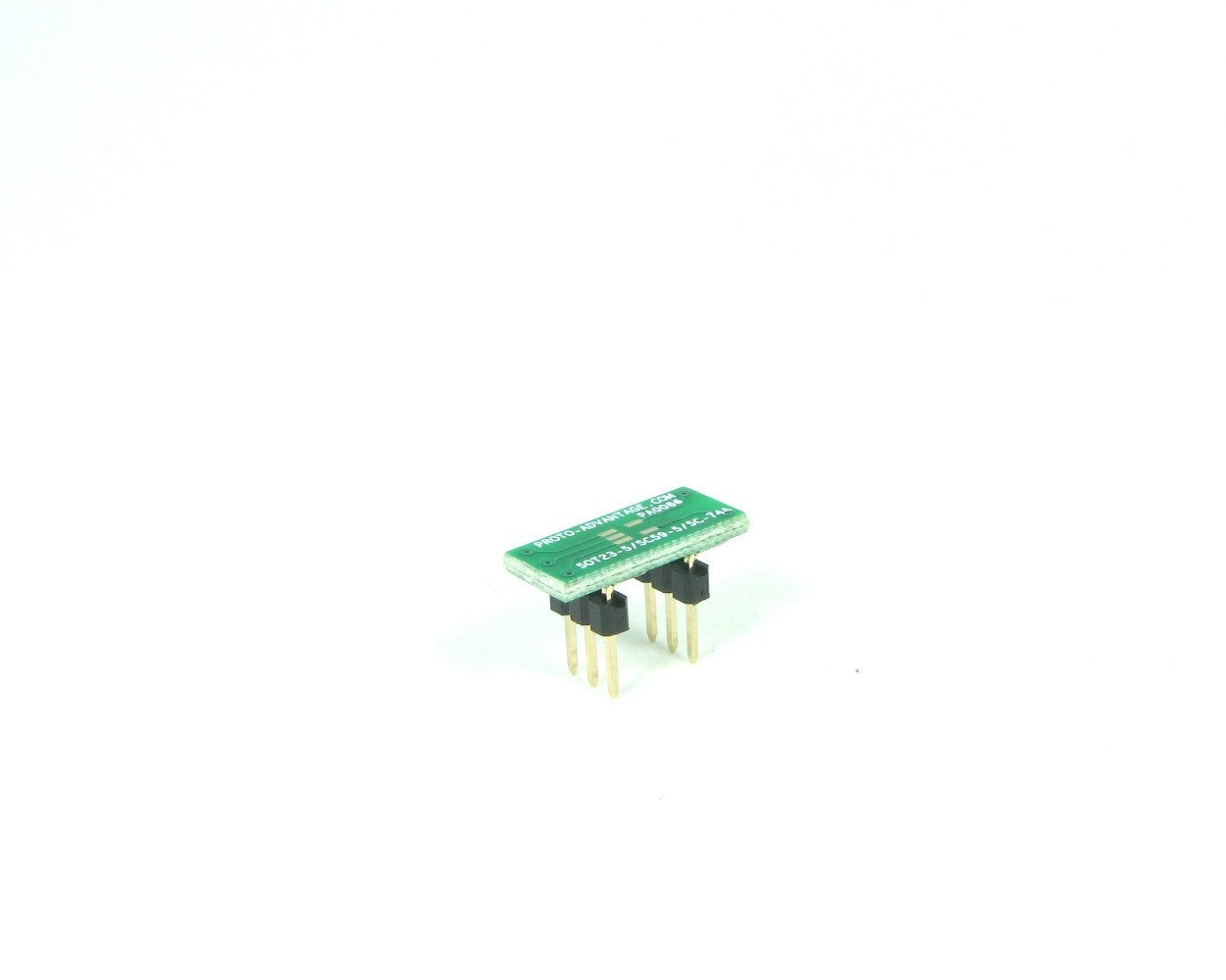 SOT23-5 to DIP-6 SMT Adapter (0.95 mm pitch)