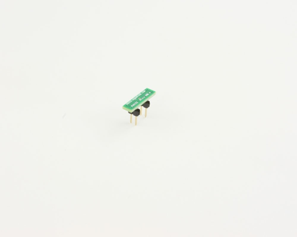 Micro SMD-4 to DIP-4 SMT Adapter (0.5 mm pitch)