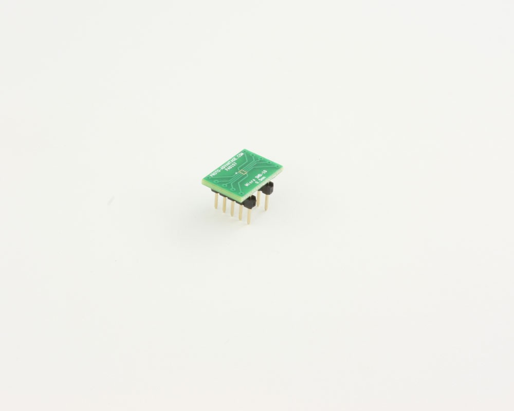 Micro SMD-10 to DIP-10 SMT Adapter (0.5 mm pitch)