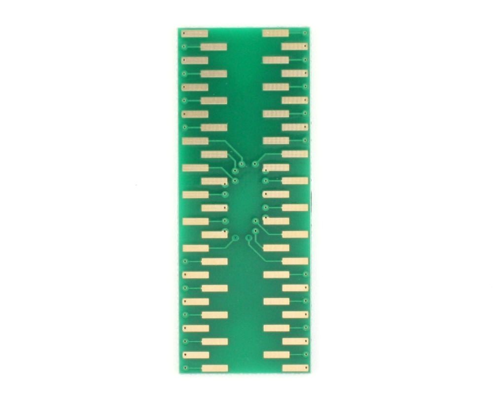 JLCC-52 to DIP-52 SMT Adapter (50 mils / 1.27 mm pitch)